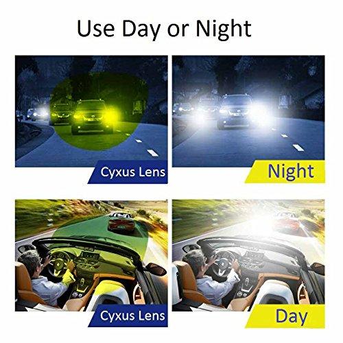 free shipping Cyxus polarisées classique Verres miroir Lunettes de soleil à clipser  Lunettes  anti- 8f006dadd661