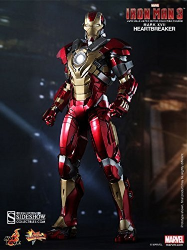 Hot Toys Marvel Iron Man 3 Heartbreaker Mark 17 XVII 1/6 Scale - Import It  All