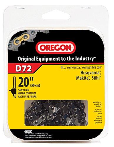 Oregon D72 20-Inch Vanguard Chain Saw Chain, Fits Husqvarna, Remington, Makita, Stihl and others