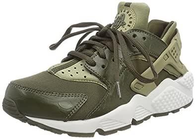 Nike Women's Air Huarache Run Trainers Shoes, Green (Neutral Olive/Cargo Khaki-Summit White), 9 US (40 1/2 EU)
