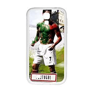 PORTUGAL Soccer White Phone Case for Samsung Galaxy S4