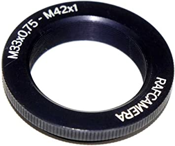 65mm to M42x1 Male Thread Adapter