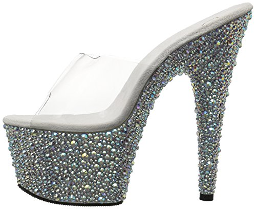 Multi 3 Uk slv 701ms Pleaser Bejeweled Clr Rs eu 36 0xqIxfRO