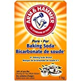 ARM & HAMMER Baking Soda, For Baking, Cleaning and Deodorizing, 1-kg