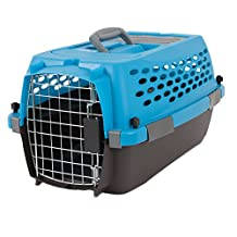 Petmate 21790 Vari 19-Inch Pets Kennel, Up to 10-Pound, Breeze/Coffee Ground