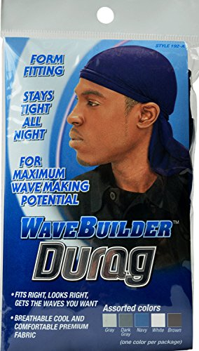 Boo Cap (WaveBuilder Durag #192-A (assorted colors:gray,dark gray,navy, white, brown))