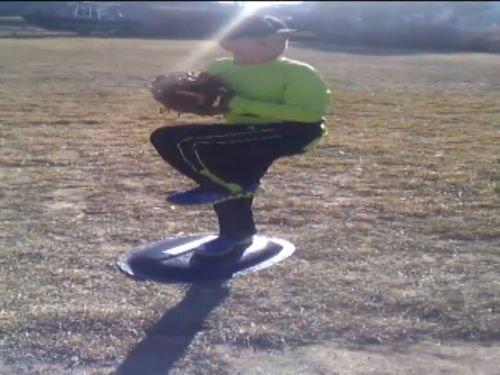 ElitePitch . Fiberglass . Ultra Portable 24x18x3 Pitching Mound - 5 Tool Baseball Training Pitcher