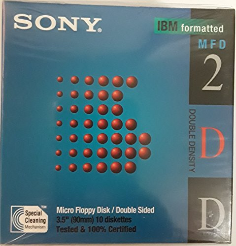 Sony1MB IBM Formatted Floppy Disk (10-Pack) for sale  Delivered anywhere in USA