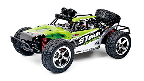 FSTgo High Speed Vehicle RC Car 35MPH 1/12 Scale 4WD Off Road Truck with LED Lights 2.4GHz Electric Race Car (1B-LUSD-IM93)