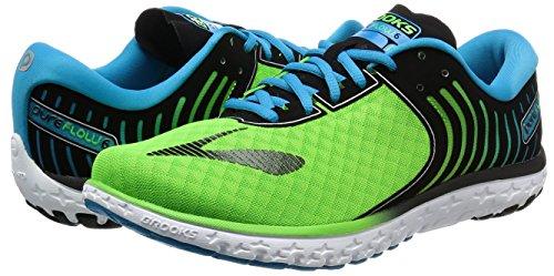 Brooks Black Course Hommes greenflash 6 Multicolore Pour Chaussures Hawaiianocean Pureflow De 1EBPPq