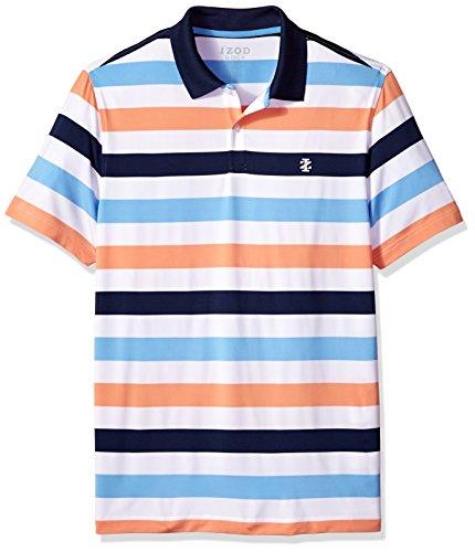 IZOD Men's Performance Golf Polo, Little Boy Blue, Medium