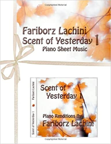 Book Scent of Yesterday 1: Piano Sheet Music