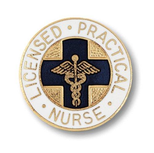 - Prestige Medical Emblem Pin, Licensed Practical Nurse (Blue Cross)