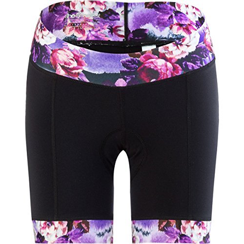 Womens : Shebeest Clothing - SHEBEEST Peonies Ultimo Short - Women's - Multi, Small