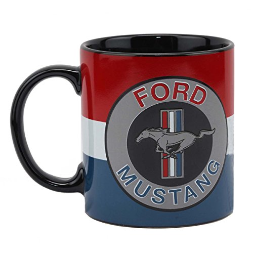 Open Road Brands Ford Mustang Ceramic 16 Oz. Mug