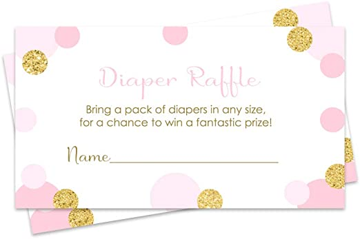 This is a graphic of Free Printable Baby Shower Diaper Raffle Tickets inside printout