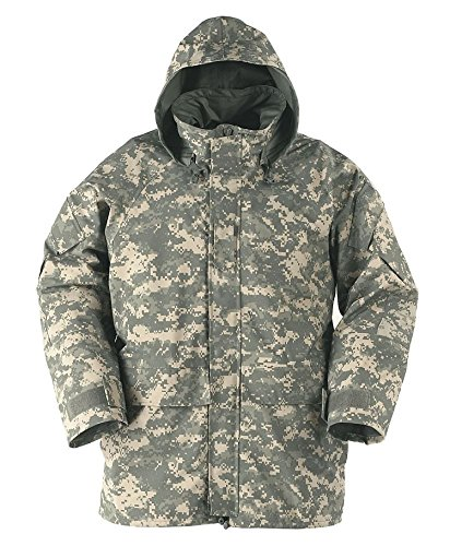 NEW ORIGINAL US ARMY ISSUE - GEN II ECWCS ACU GORE-TEX COLD WEATHER UNIVERSALL CAMOUFLAGE PARKA - LARGE (Acu Cold Weather Parka)