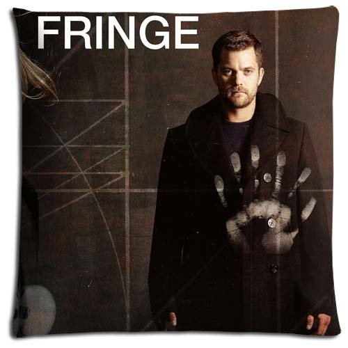 16x16 inch 40x40 cm cushion pillow case Polyester Cotton Personalized prints Fringe