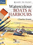 Watercolour Boats and Harbours (Ready to Paint)