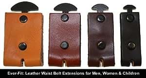 leather waist belt extender 1 5 unfinished