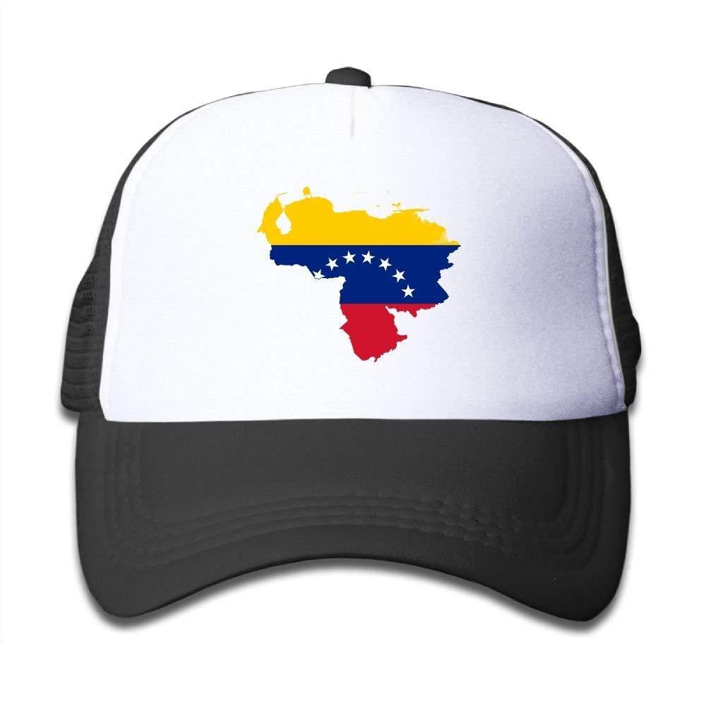 FEAIYEA Flag Map Venezuela Boy /& Girl Grid Baseball Caps Adjustable Sunshade Hat Children