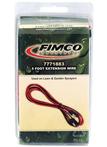 (Fimco Extension Wire, Black, 5 feet)