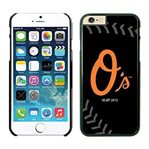 LarryToliver DIY fashion Baltimore Orioles team logo for iPhone 6 Cases(4.7 inch)-Black Baseball by ruishername