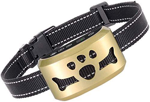 Dog Bark Collar-7 Adjustable Sensitivity and Intensity Levels-Dual Anti-Barking Modes Rechargeable/Rainproof/Reflective…