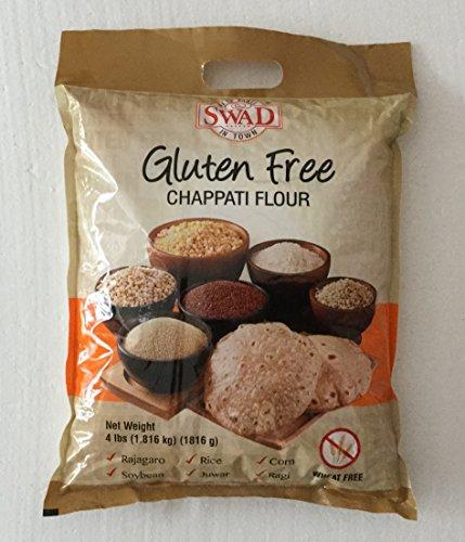 Swad Gluten Free, Wheat Free Multi-grain Chappati Flour - 4 lbs., 1.816 - Gluten Free Wheat