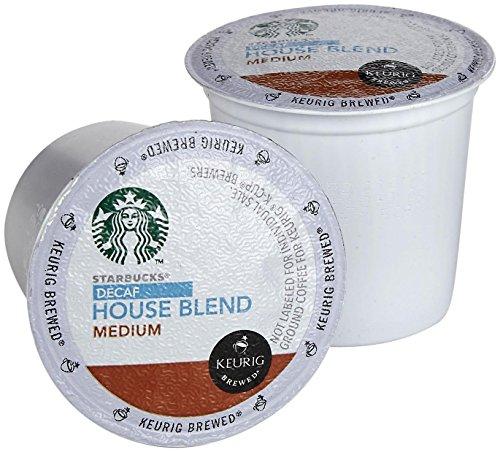 Starbucks Decaf House Blend Medium Roast Keurig K-Cups (16 Pack) (Keurig Decaf House Blend compare prices)