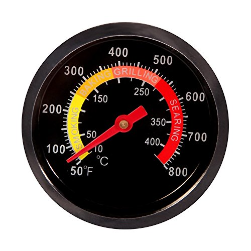 CoZroom BBQ Temperature Gauge Grill Thermometer for Barbecue Meat Cooking Pork Lamb Beef