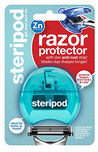 Price comparison product image Steripod Clip-On Razor Protector (Teal)