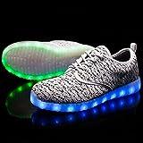 FLARUT Unisex LED Shoes Light up Sneakers Women Men
