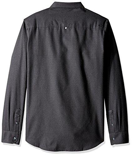 Chemise à manches longues Oakley Adobe Jet Noir Heather