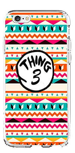 SHARK Thing 1 2 3 Desgn Lovers Couple Best Friends Aztec Matching Cases for (Thing 3:iphone 6 )
