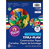Tru-Ray Construction Paper, 9'' x 12'', 50 Sheets