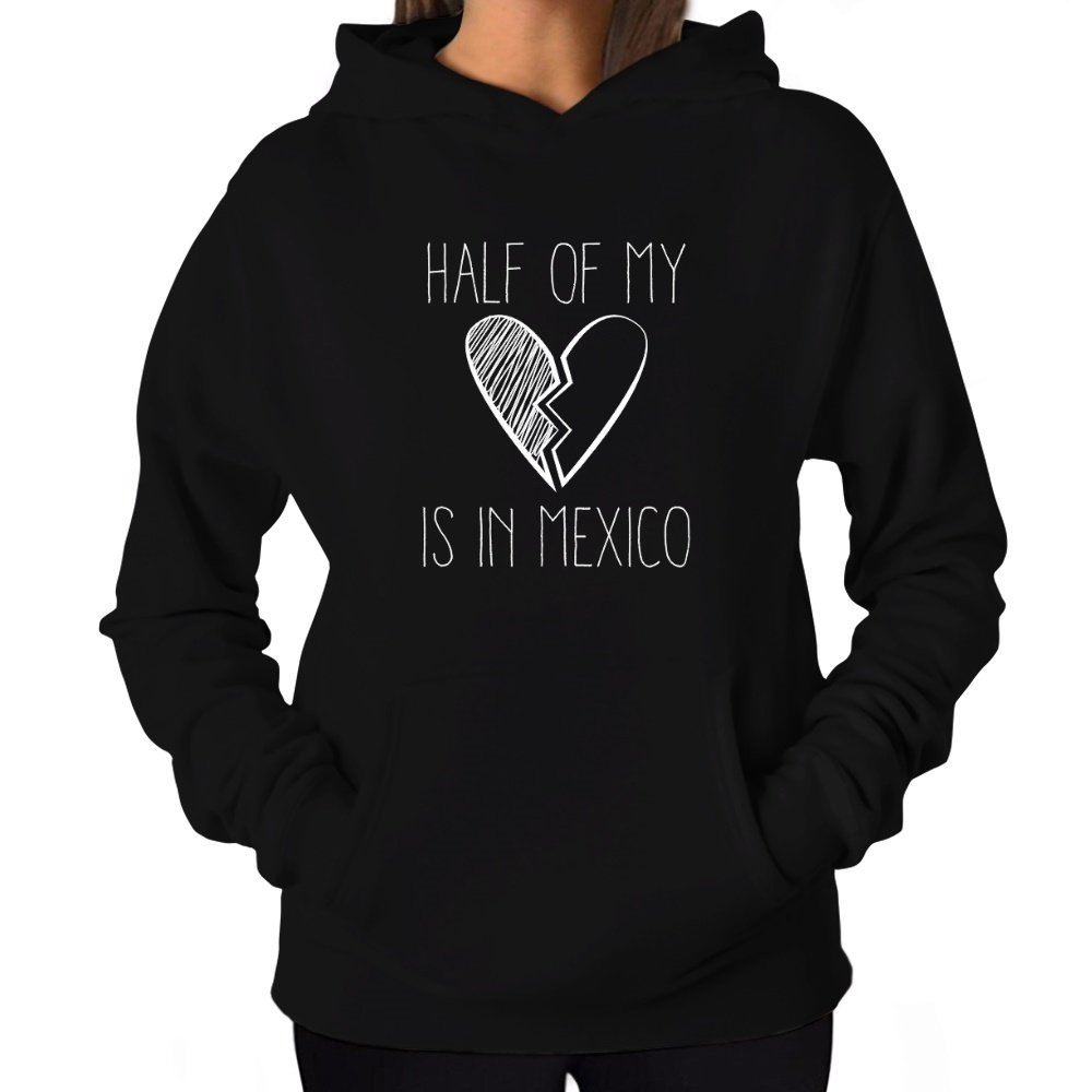 Site Athletics Half of my heart is in Mexico Women Hoodie S03745655SAA5570000D4