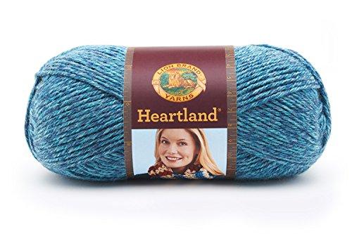 Lion Brand Yarn 136-105 Heartland Yarn, Glacier Bay from Lion Brand Yarn