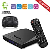 [The Strongest] Kingbox K3 Android 6.0 TV box 2017 TOP configuration 4K/64Bit/S912/Octa Core/H.265//2.4G+5G Dual Band WiFi/BT 4.0/1000M lan Smart TV Box include Free Wireless Mini Keyboard