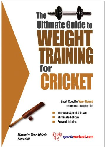 Ultimate Guide Weight Training Cricket ebook product image