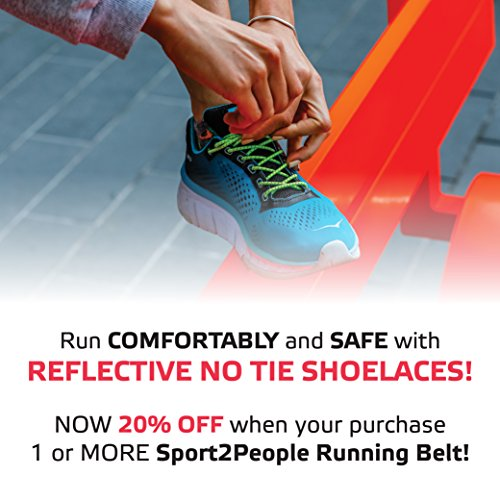 Sport2People Waist Bag for Running Waterproof Waist Pack Best Fitness Gear for Hands-Free Workout Freerunning Reflective Waist Pack Phone Holder Men, Women, Kids Running Accessories by Sport2People (Image #7)
