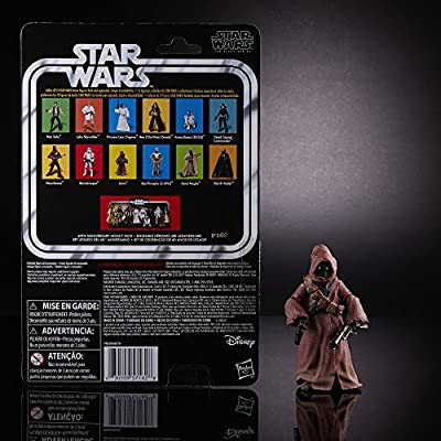 Star Wars The Black Series 40th Anniversary Jawa, 6-inch: Toys & Games