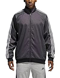 Mens Essentials 3-Stripe Woven Track Top