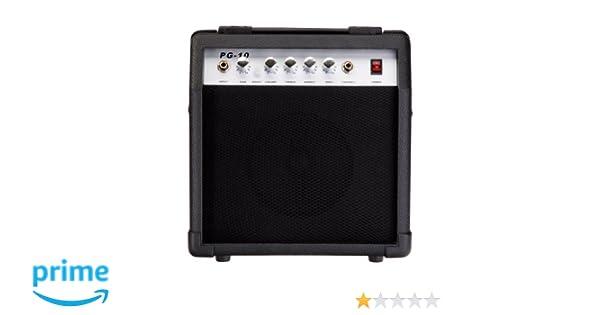 Rocktile PG-10 - Amplificador de guitarra eléctrica: Amazon.es: Instrumentos musicales