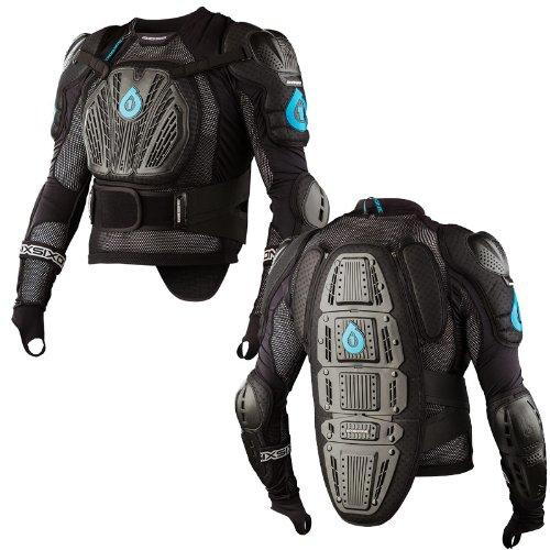 Sixsixone Body Armor (SixSixOne Rage Pressure Suit (Black, Medium))