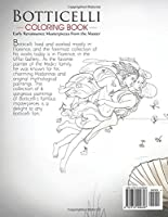 Botticelli Coloring Book Early Renaissance Masterpieces from the Master