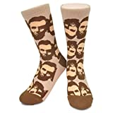 Abraham Lincoln Socks - Neon Eaters - Funky Crazy Novelty Fun Abe Lincoln  Presidential Socks SMALL 742dc3cffd09