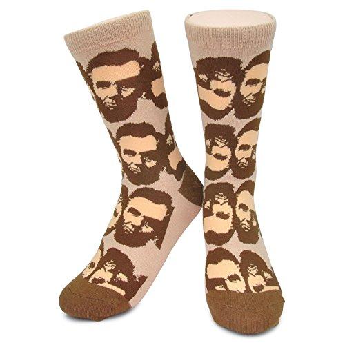 Abraham Lincoln Socks - Funky Novelty Funny Abe Presidential Socks boys kids mens -