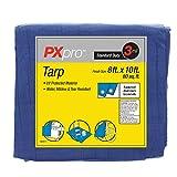 PXpro Standard Duty Tarp 8'X10'