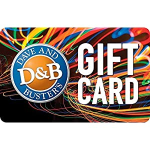 Dave and Buster's Gift Card